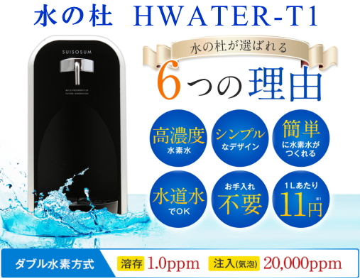 HWATER?T1 6つの理由